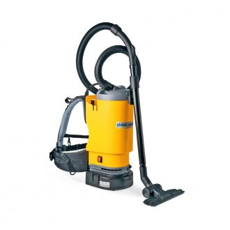 Backpack vacuums, electric & battery
